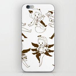 SUPERNATURAL SAM DEAN CASTIEL iPhone Skin