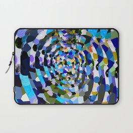 Sky Blue Moon Sapphire Love Laptop Sleeve