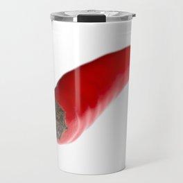 Red Birds Eye Chilli Pepper Travel Mug