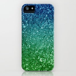Ombre glitter #7 iPhone Case