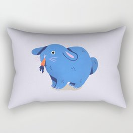 Disenchanted Bunny Rectangular Pillow