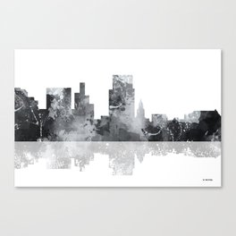 Boise, Idaho Skyline BG Canvas Print