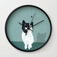 spider Wall Clocks featuring Spider by Jacek Muda
