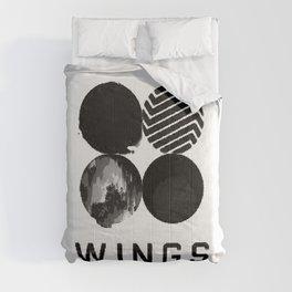 Society6 Wings Trending Teen Decorations - S6 BTS Girls Pop-Art Decors Comforters