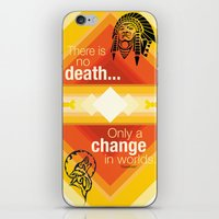 native american iPhone & iPod Skins featuring Native American by Chris Cammarota