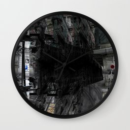 As incisions, or claws scraping, teeth digging in. [D] Wall Clock