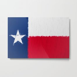 Texas state flag  Metal Print