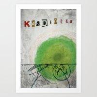 kandinsky Art Prints featuring kandinsky inspired art by Easyposters