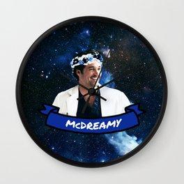McDreamy Wall Clock