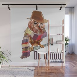 Dr. Who Owl Wall Mural
