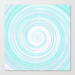 Re-Created Spin Painting No. 5 by Robert S. Lee Canvas Print