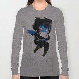 Fuzzy Chibi Luc (Expression 2) (no cloud) Long Sleeve T-shirt