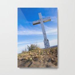 At the Cross Metal Print