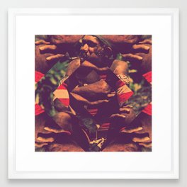Indigenous Framed Art Print