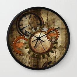 Steampunk, wonderful noble design  Wall Clock