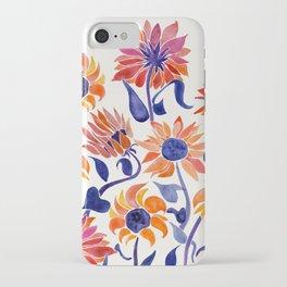 Sunflowers – Sunset Palette iPhone Case