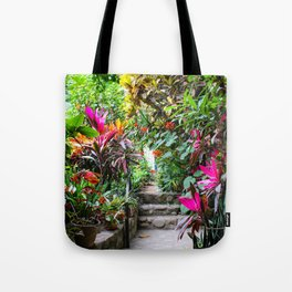 Dreamy Mexican Jungle Garden Tote Bag