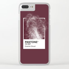 Pantone Series – Cosmic Cloud #2 Clear iPhone Case