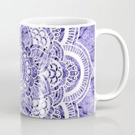 Mandala Lavender Colorburst Coffee Mug