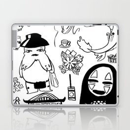 Spirit Away Characters Laptop & iPad Skin