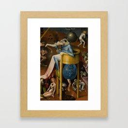 The Garden of Earthly Delights Framed Art Print