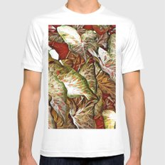 Loving Color MEDIUM Mens Fitted Tee White