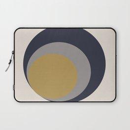 Inverted Circles Laptop Sleeve