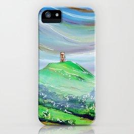 Glastonbury Tor iPhone Case