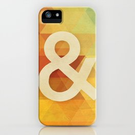 Avant Garde Ampersand iPhone Case