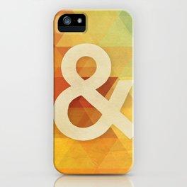 Avant Garde Ampersand iPhone Case