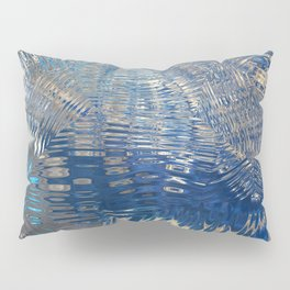 freeze glass with trees Pillow Sham