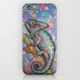Chameleon(4) iPhone Case