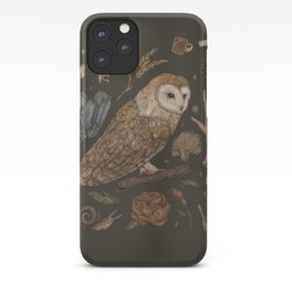 Harvest Owl iPhone Case