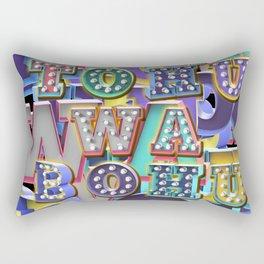 TO HU WA BO HU - Chaos Rectangular Pillow