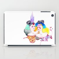 leah flores iPad Cases featuring Flores by Tania Orozco