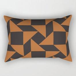 Modern Urban Tribal Pattern No.5 Rectangular Pillow