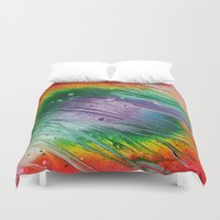 square Duvet Covers featuring Square by Justin Similey