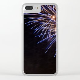 Guy Fawkes Fireworks Clear iPhone Case