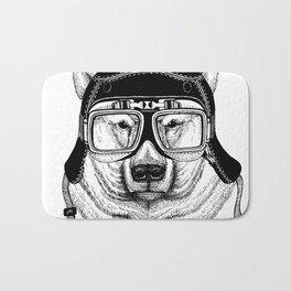 Polar Bear Speed Rebel Bath Mat