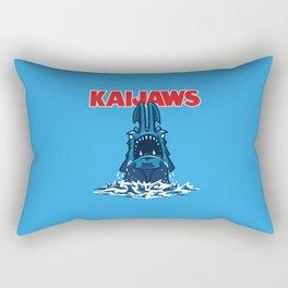 KaiJaws (Pacific Rim/Jaws) Rectangular Pillow