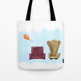 New Up Tote Bag