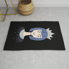 Queen of sorrow Rug