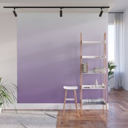 Lavender Ombre Wall Mural