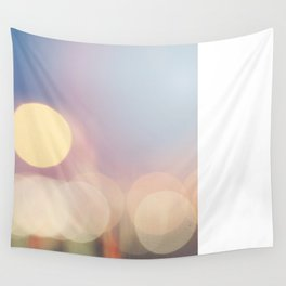 lights, action, bokeh Wall Tapestry