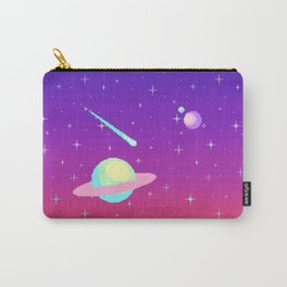 Pixelated Galaxy Carry-All Pouch