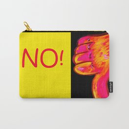 Thumbs Down NO! Carry-All Pouch