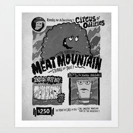 Circus of Oddities Art Print