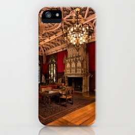 Newport Mansions, Rhode Island - Marble House - Gothic Room iPhone Case