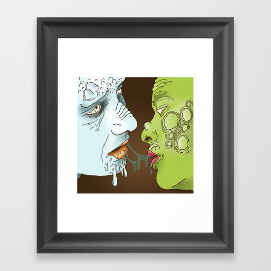 Infection  Framed Art Print