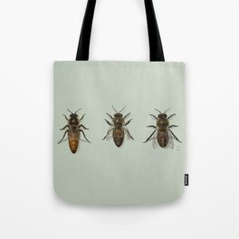 Honey Bee Family Tote Bag